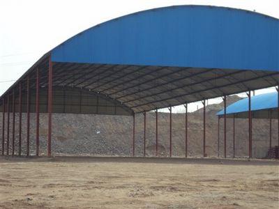 彩钢大棚-靖江钢结构 江苏钢结构 钢承板 钢结构厂房