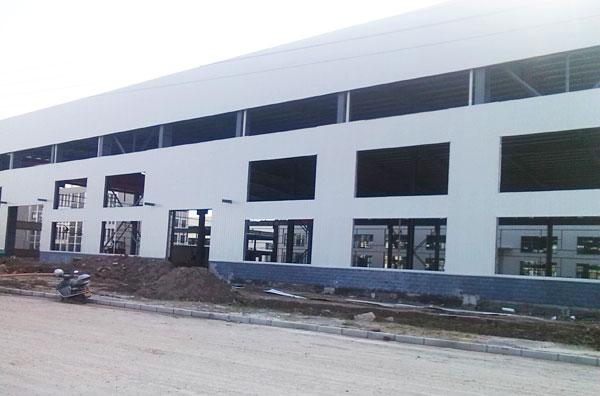 园区标准化钢结构厂房-经典案例-江苏华宝钢结构有限