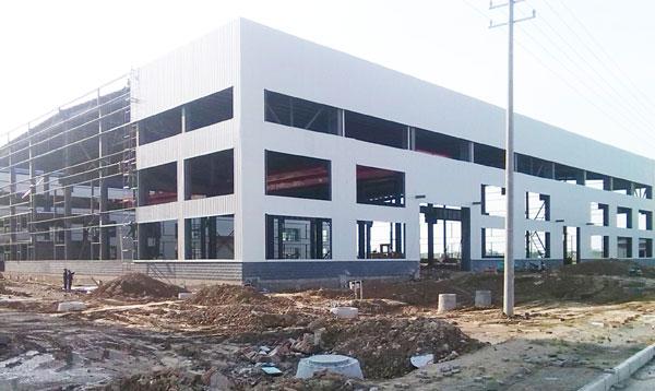 城北园区标准化钢结构厂房